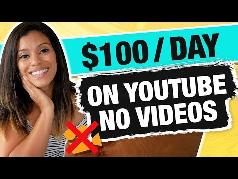 Earn $100 Per Day on YouTube Without Making any Videos [The REAL way] - Marissa Romero