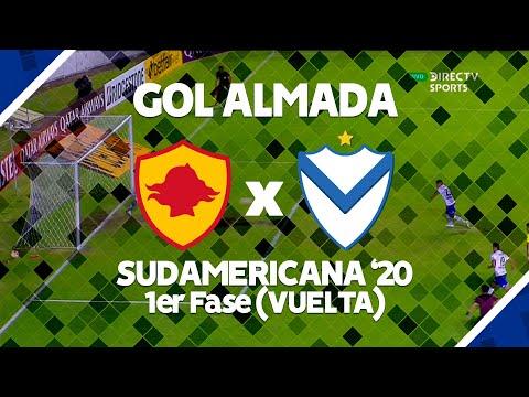 GOL   AUCAS Vs Velez   Sudamericana 2020   1era Fase VUELTA   T Almada