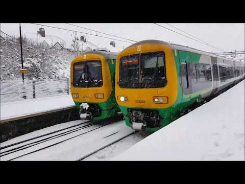 Coseley in snow & West Midlands Railway's 1st Day