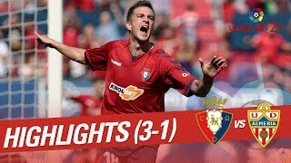 Resumen de CA Osasuna vs UD Almería (3-1)