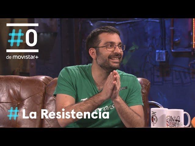 LA RESISTENCIA - Entrevista a Salva Espín, dibujante de Deadpool   #LaResistencia 17.05.2018