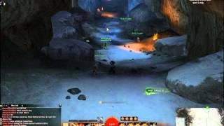 Guild Wars 2 How To - Dissuns Mine Entrance ( Dredgehaunt Cliffs ) Gw2