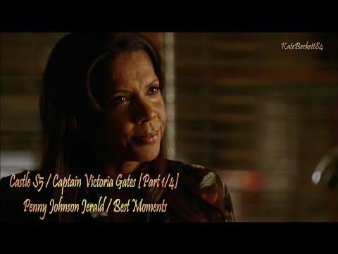 Castle S5 Captain Victoria Gates 14 Penny Johnson Jerald Best Moments HD