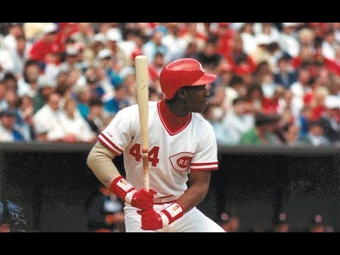 Cincinnati Reds - Eric Davis Hits for the Cycle