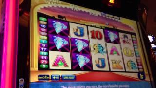 VIP All Stars-Aristocrat Slot Machine Bonus (50 Lions Feature)