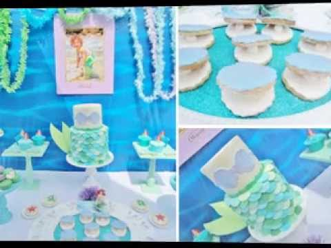 DIY Little Mermaid Birthday Party Decorating Ideas