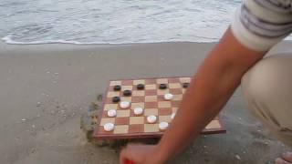 #1 Успейте решить комбинацию за несколько секунд. Шашки Черного моря. Find a combination. Draughts.