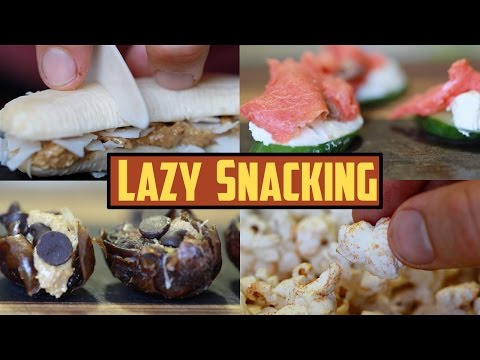 The Ultimate Guide to Lazy Snacking (3 Ingredients Each)