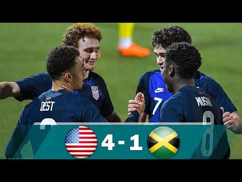 USA VS JAMAICA 4-1 HIGHLIGHTS & ALL GOALS [USMNT vs JAMAICA] - FRIENDLY 2021