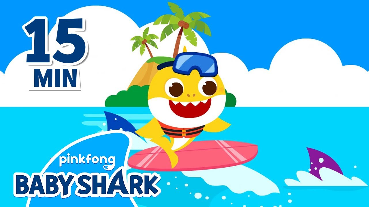 Enjoy Summer Time with Baby Shark!   +Compilation   Baby Shark Songs   Baby Shark Official