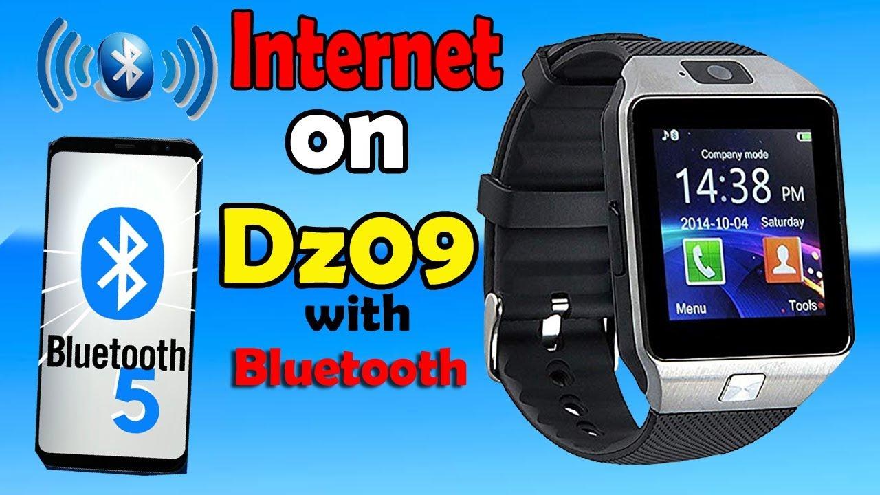 Dz09 Internet Internet On Dz09 Smart Watch With Bluetooth