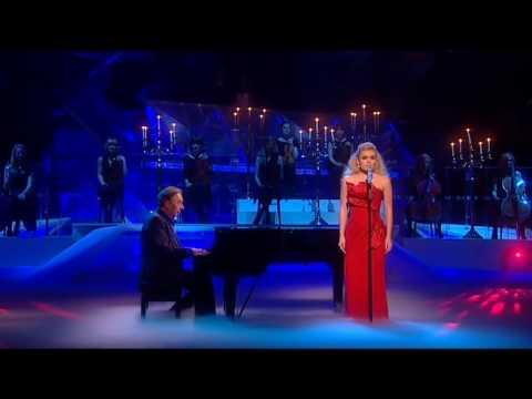 Katherine Jenkins sings Love Never Dies on Dancing On Ice - 28th Feb 2010