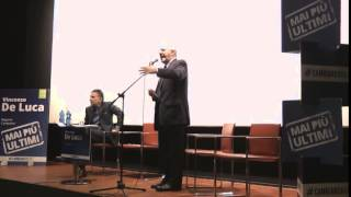 Vincenzo De Luca a Napoli (14.02.2015) - Primarie