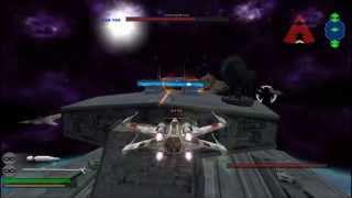 star wars battlefront ii space battle assault gameplay pc