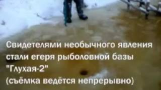 Зимова рибалка на тягу. Пре з лунки як з кулемета