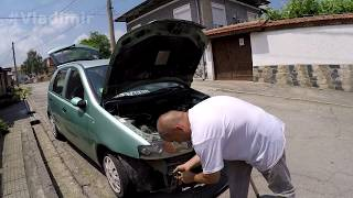 Донор Фиат Пунто 400 км домой по Болгарии. Самодельная жесткая сцепка(, 2017-12-13T06:38:51.000Z)