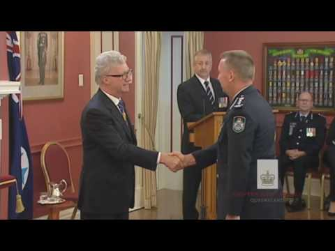 Queensland Investiture Ceremony, Tuesday 3 May 2016
