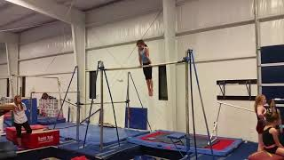 Girl Gymnast Transitions Smoothly From Stalder to Giant Swings - 1025618-5