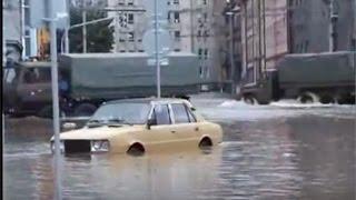 Tatra trucks hard at work during flood