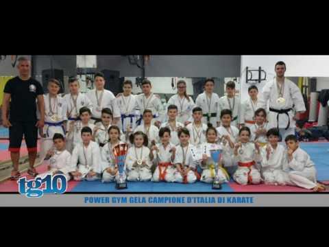 Power Gym Gela campione d'Italia di karate