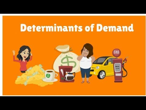 CA Foundation Business Economics - Determinants of Demand