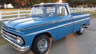 1965 Chevy c10, short wide, a/c, p/s, nice stereo, for sale in Texas