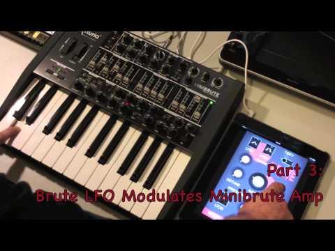 Download Analog Experiments 3 (Brute LFO modulates Minibrute)