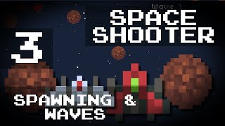 [Game Maker Tutorial] Easy Space Shooter - 3: Spawning Asteroids and Wave Progression