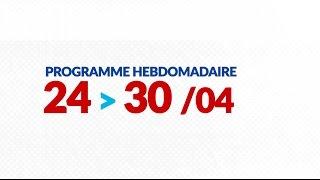Programme de courses Equipe FDJ : Semaine du 24 au 30 avril