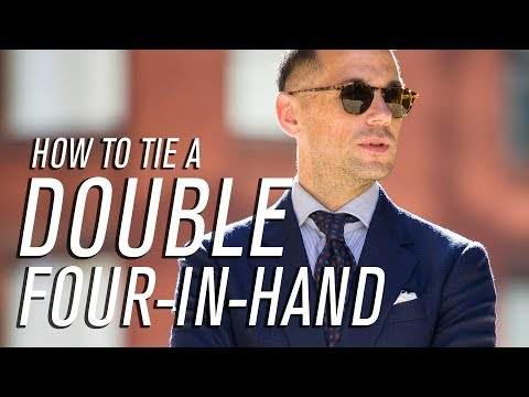 How To Tie Double Four