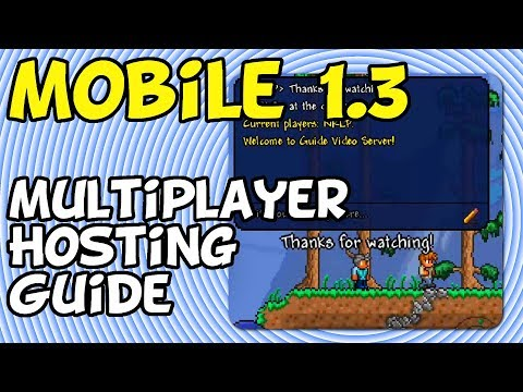 Terraria Mobile - Guide To Multiplayer Server Basics [iOS, Android, Amazon]