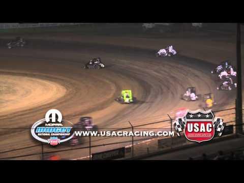 June 14, 2012 - USAC Indiana Midgetweek Round 2 at Lincoln Park Speedway