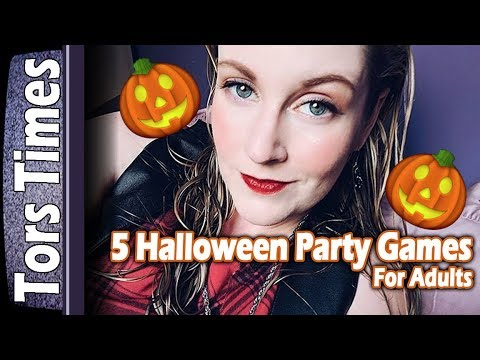 5 Adult Friendly Halloween Party Games! 2017