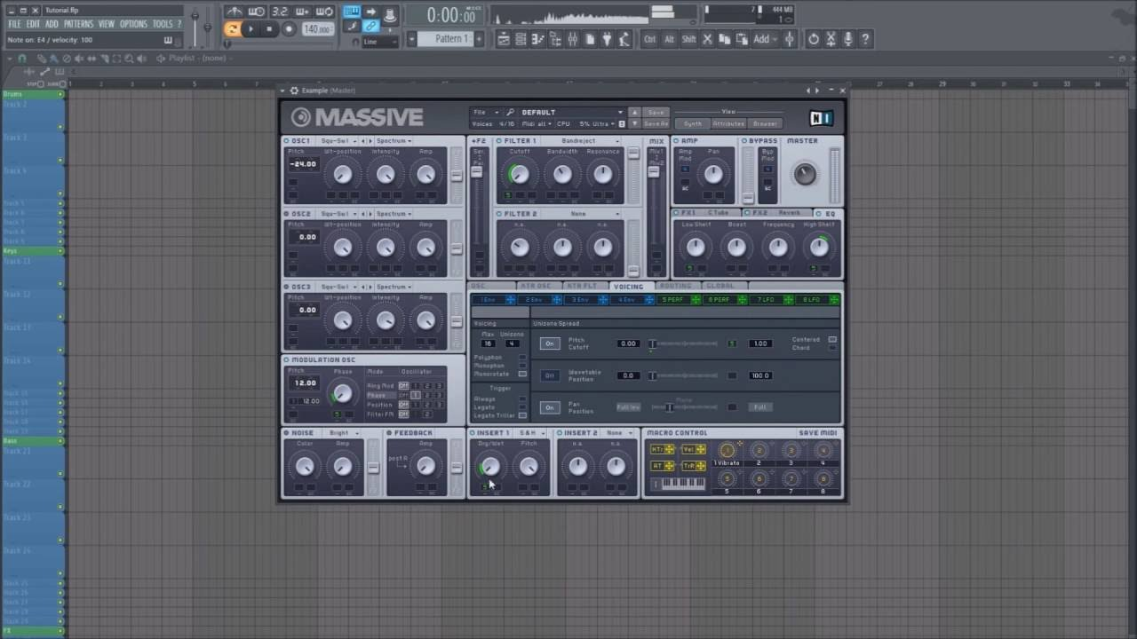 Download MASSIVE TUTORIAL   Crazy Screaming Dubstep Bass!