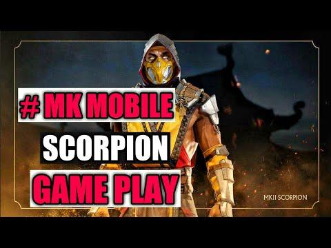 Mortal Kombat mobile mk11 Scorpion character Game play Reveal trailer.