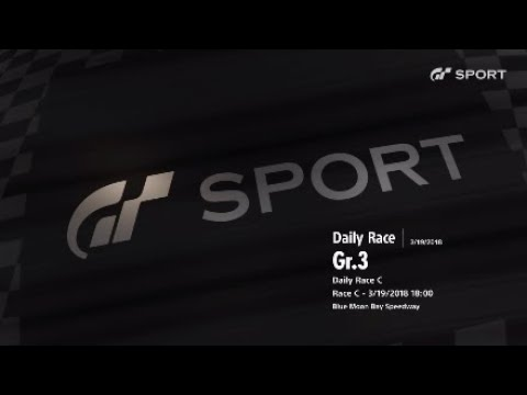 Gran Turismo Sports : Daily Race GR.3 - Blue Moon Bay Speedway