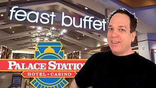 Palace Station Buffet Las Vegas - The New AYCE!