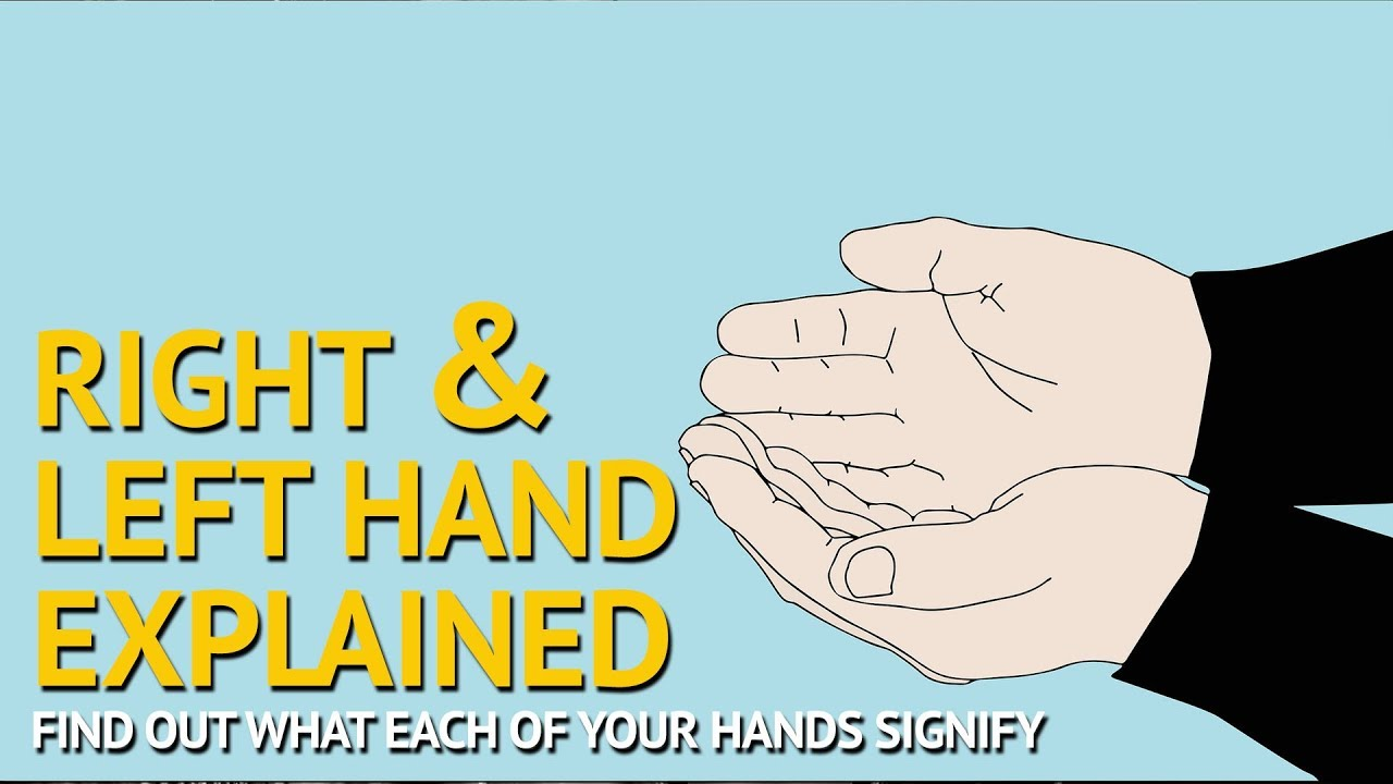 Palmistry - Right Hand Vs Left Hand Meaning Explained - Which Hand to Read ?