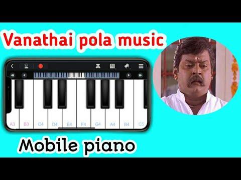 Perfect piano vanathai pola music