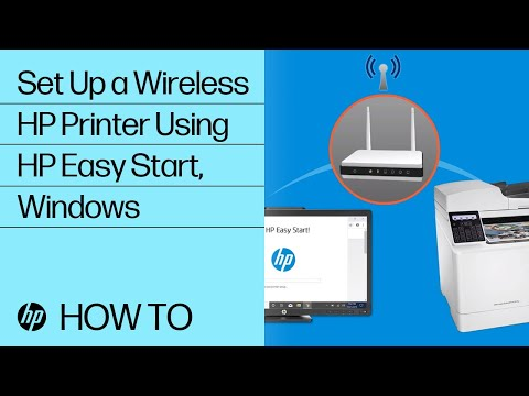 Setting up HP Printer on a Wireless Network in Windows 7   HP Easy Start   HP