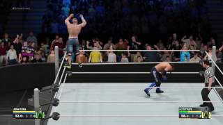 WWE 2K17 How to use basic controls tutorial - PS4 PS3 XO X360