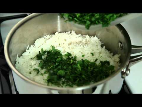 Sabzi Polo Ba Mahi Fish Recipe