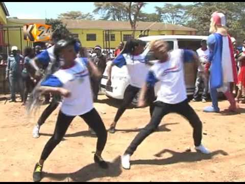 Kameme Fm Fans treated to a fun fair of entertainment in collaboration with Aquafresh Kenya,Nyeri