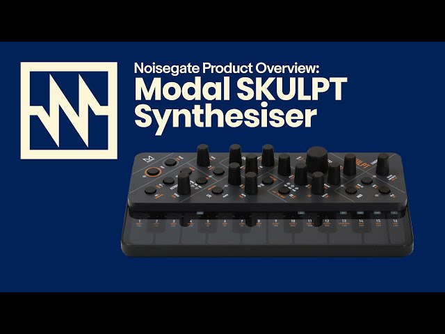 Modal: SKULPT Synthesiser First Look
