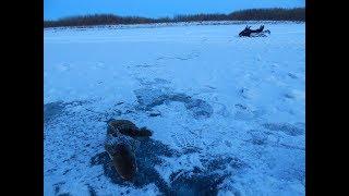 Рыбалка.Первый лёд 17.10.2017г.