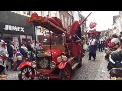 Carnavals optocht in Bergen op Zoom 2014 (04-03-2014)