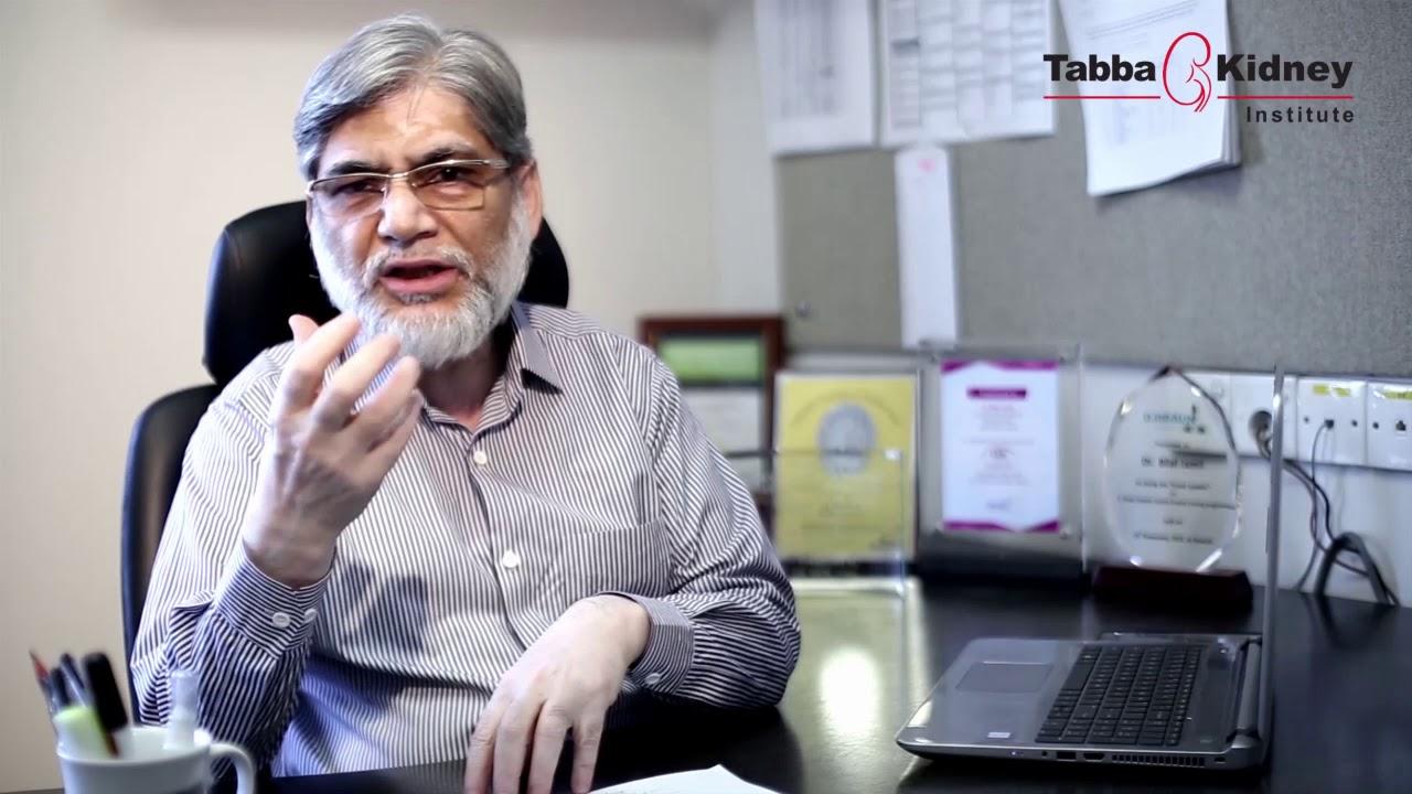 Dr  Bilal Jamil (Nephrologist) Tabba Kidney Institute