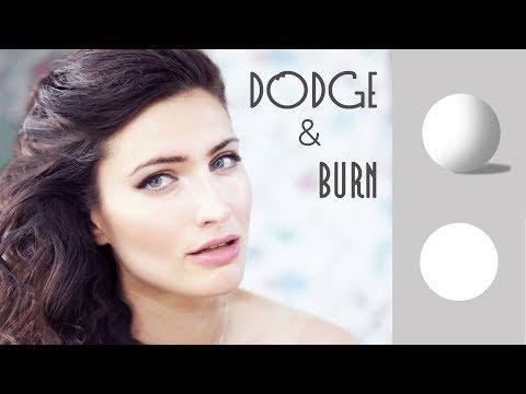 Ретушь кожи в Фотошопе / Быстрый метод DODGE&BURN