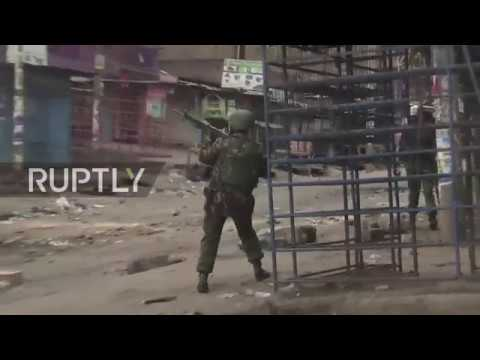 Kenya: Police fire on post-election protesters in Nairobi as death toll rises
