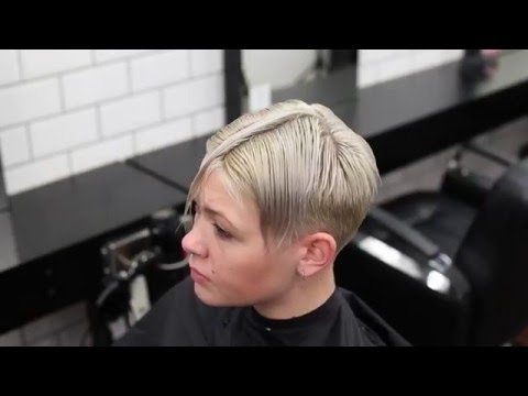 Side Part London School Of Barbering Haircut Highlights Youtube
